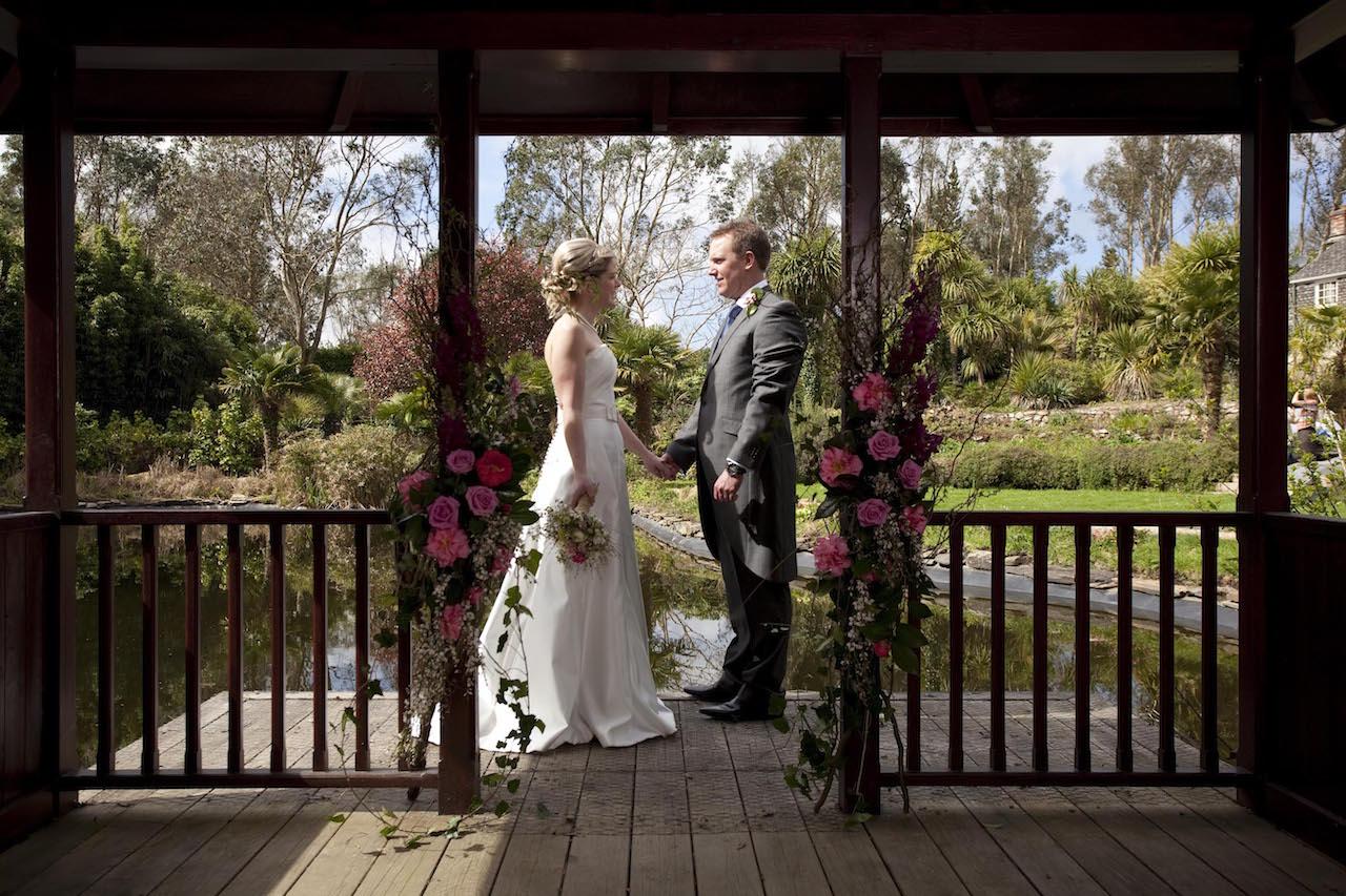 Eco wedding at The Emerald - Wedding planner Cornwall