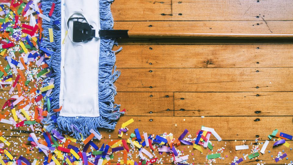 Post event clean up Cornwall - Event planner Cornwall