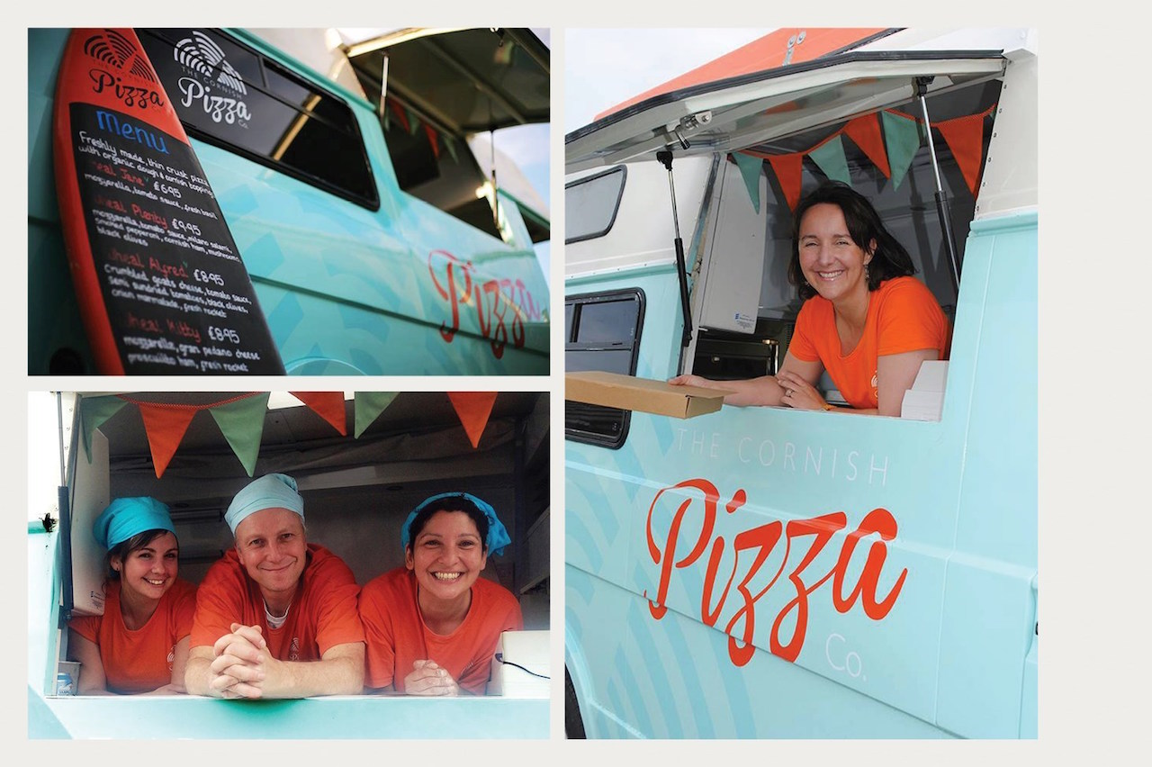 Cornish pizza van wedding - Wedding planner Cornwall