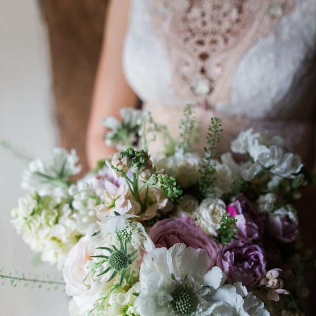 Photos of the wedding flowers used by Wedding Planner Jenny Wren; Cornwall Wedding planner