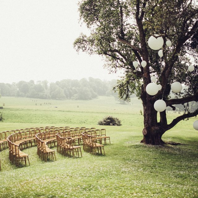 Outdoor wedding Boconnoc
