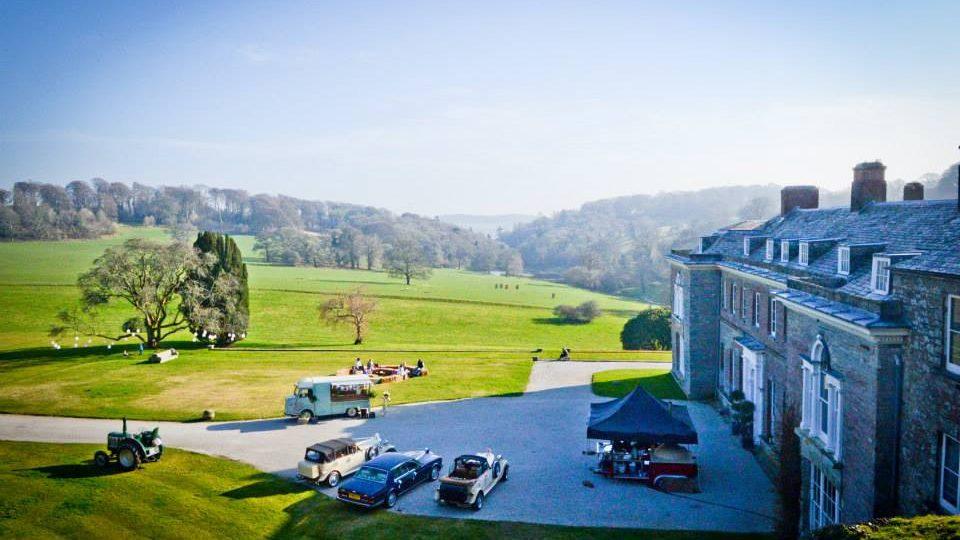Boconnoc wedding day - Wedding planner Cornwall