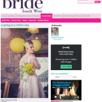 Feature from Bride South West by Jenny Wren, Wedding Planner in Cornwall