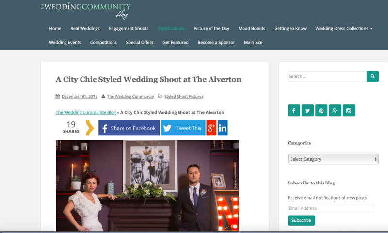 City Chic press feature all about Jenny Wren, Wedding Planner in Cornwall.