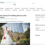 Wedding Community Blog press feature all about Jenny Wren, Wedding Planner in Cornwall.
