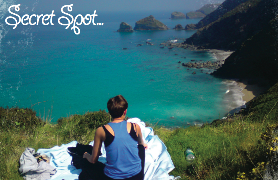 Photo of a secret spot that can be used during your Cornwall wedding