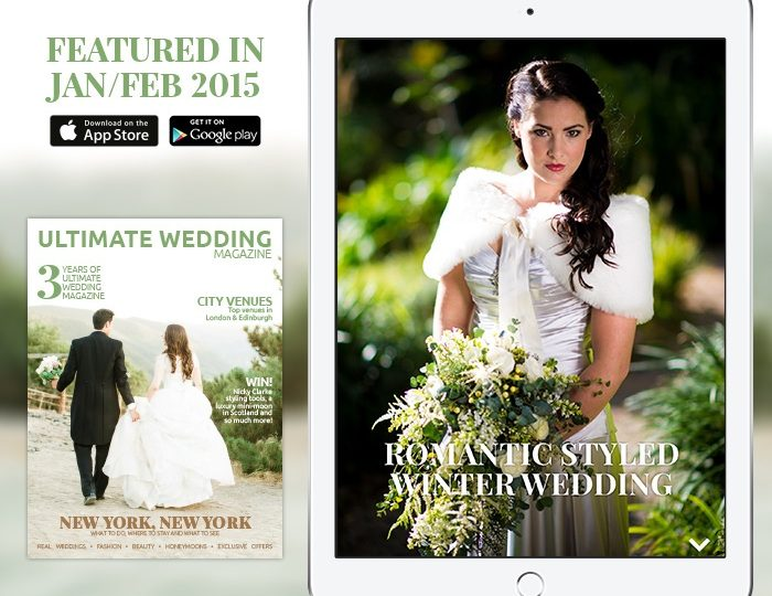 Feature from Ultimate Wedding Magazine by Jenny Wren, Wedding Planner in Cornwall
