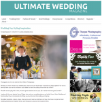 Feature from UItimate Wedding Magazine by Jenny Wren, Wedding Planner in Cornwall