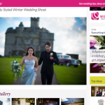 Feature from Winter Wedding Shoot by Jenny Wren, Wedding Planner in Cornwall