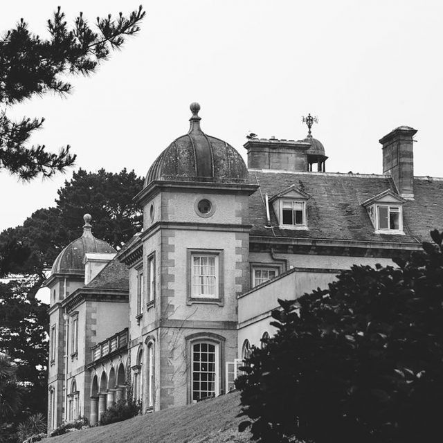 The Venue at the Fowey Hall Hotel in Cornwall. Victoria and Marcus planned this wedding with Jenny Wren, Wedding Planner in Cornwall