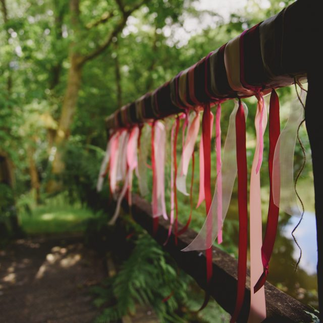 Outdoor decoration - at a wedding at a private home in Lanhydrock in Cornwall. Polly and Benjamin planned their wedding with Jenny Wren, Private Home Wedding planner