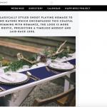 Our Woodland Wedding Styled Shoot on BoHo Weddings Blog