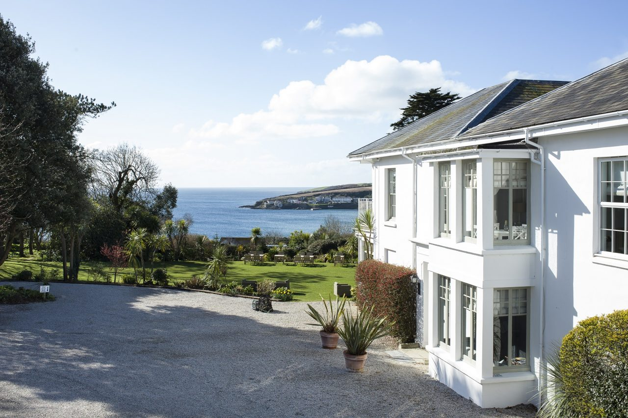 Picture from the Rosevine in Cornwall, reviewed by Jenny Wren who is a wedding planner in Cornwall.