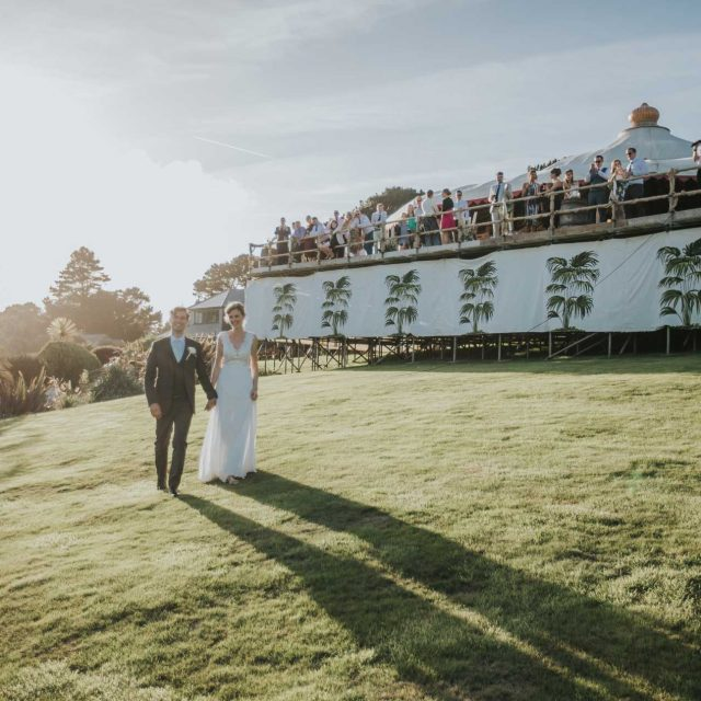 Photo from Katie and Rob's Wedding at Trebah Gardens in Cornwall. This picture was taken during a wedding planned by Jenny Wren, Wedding Planner in Cornwall.