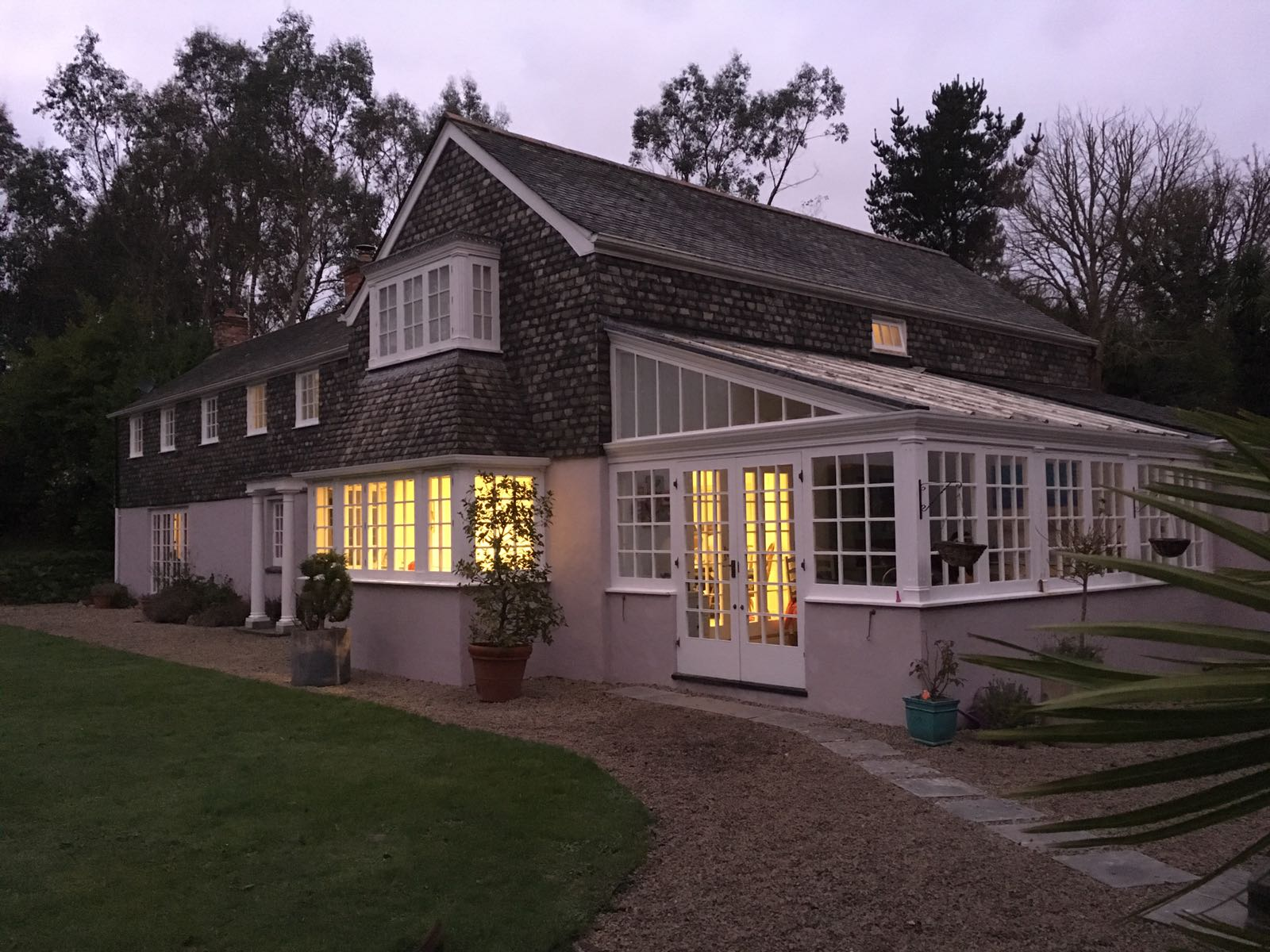 Pictures from a Christmas Holiday house in Cornwall that could be used to house a Cornwall Christmas Winter Wedding, planned by Jenny Wren