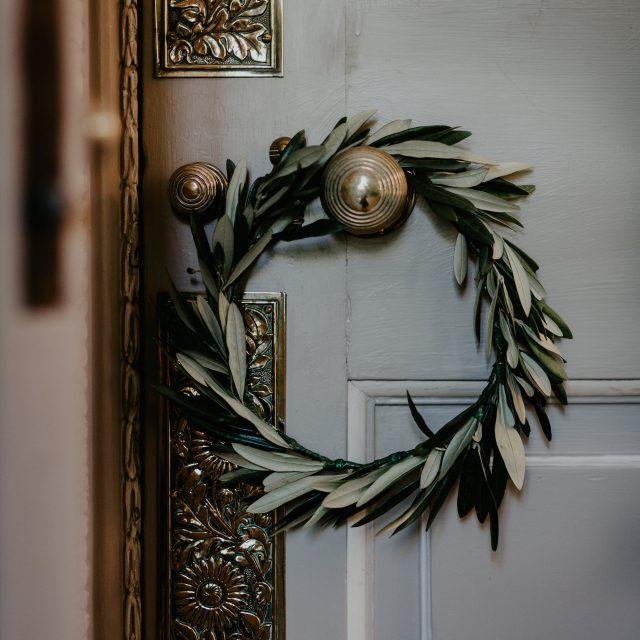 eucalyptus flower crown