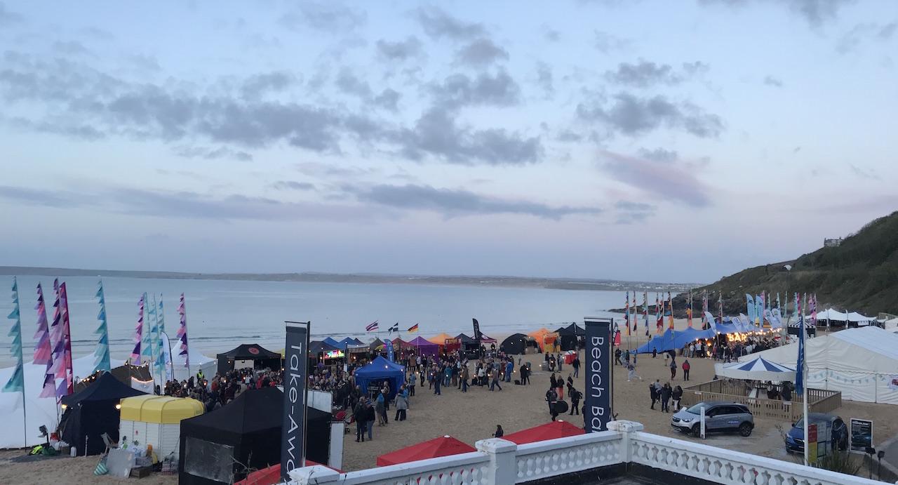 Carbis bay beach food festival
