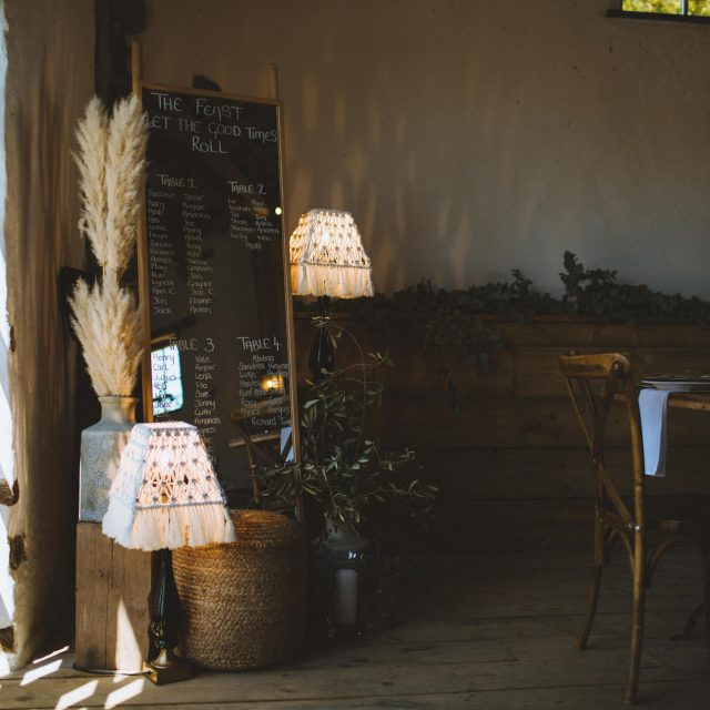 Jenny Wren Wedding Planner planned this wedding for Stella and Pete at Launcells Barton in Cornwall