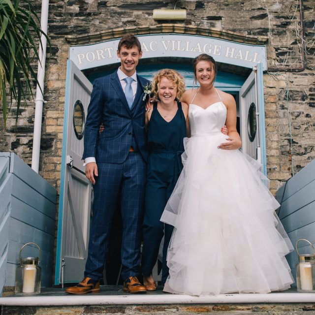 Photo from Katie and Michael's wedding in Port Isaac, Cornwall. This wedding was planned by Jenny Wren; Wedding Planner in Cornwall