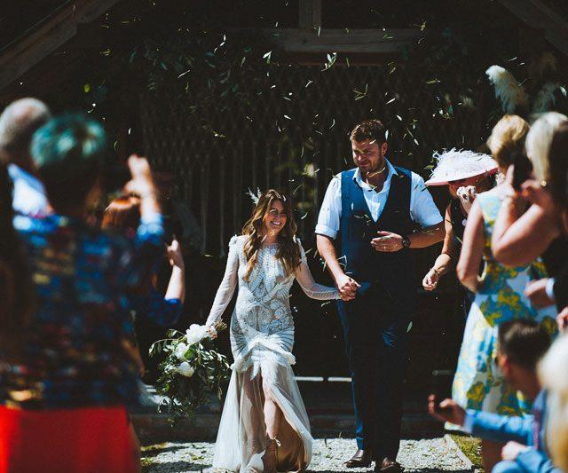 Wedding planned by Jenny Wren, wedding planner in Cornwall