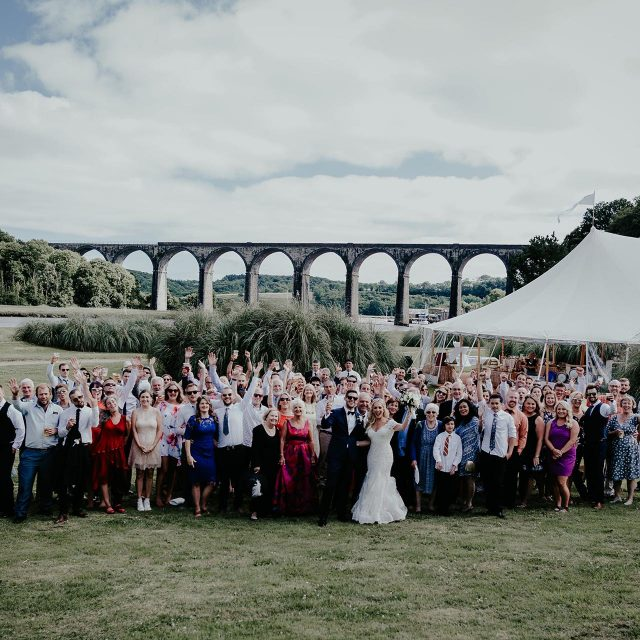 Guests at a wedding at Port Eliot Estate, Cornwall, which was planned by Jenny Wren - Wedding Planner in Cornwall