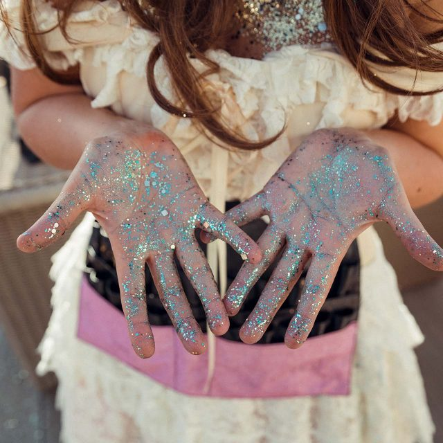 Glitter from Lucy's Birthday Party in Cornwall - Planned by Event planner Jenny Wren