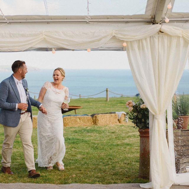 Wedding Planned for Sarah and Ollie at Pamflete House, Cornwall