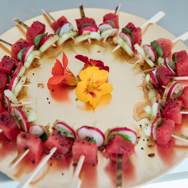 Food from Lucy's Birthday Party in Cornwall - Planned by Event planner Jenny Wren