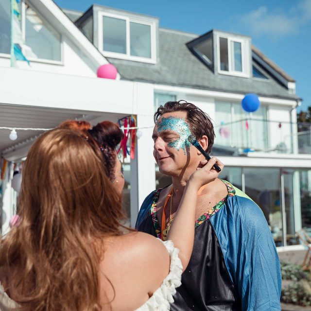 Guests from Lucy's Birthday Party in Cornwall - Planned by Event planner Jenny Wren