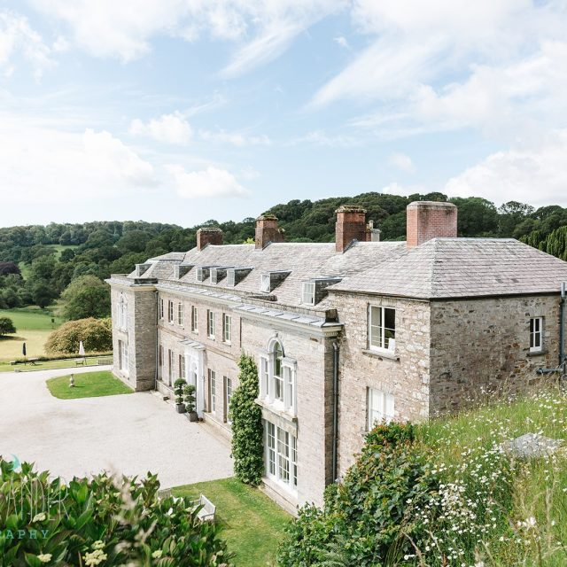 Beth and Dan's Cornwall Wedding at Boconnoc House in Cornwall. Wedding planning by Jenny Wren