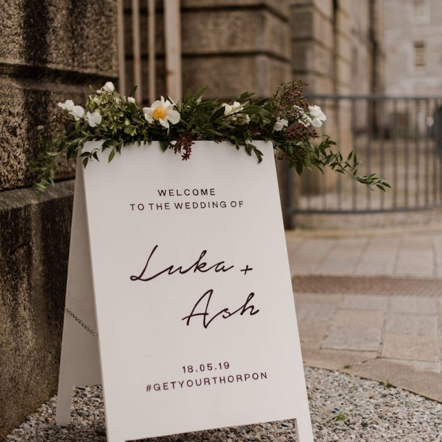 Ash and Luka's wedding; planned by Cornwall Wedding Planner Jenny Wren.