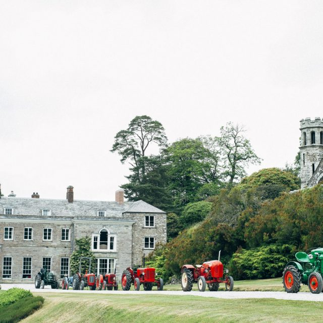 Wedding at Boconnoc House in Cornwall planned by Jenny Wren