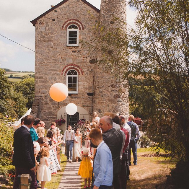 Cornwall Wedding at the Stacks, Cornwall, planned by Jenny Wren