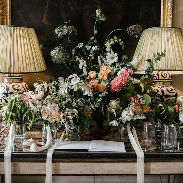 Boconnoc House wedding planned by Jenny Wren in Cornwall