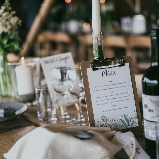 Wedding Planning by Jenny Wren for a wedding in Rosteague, Cornwall
